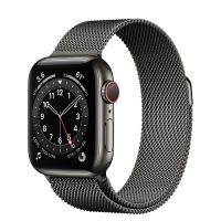 APPLE WATCH 6 40MM GRAPHITE STAINLESS STEEL CASE WITH GRAPHITE MILANESE LOOP