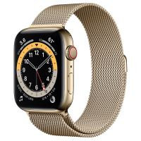 APPLE WATCH 6 44MM GOLDSTAINLESS STEEL CASE WITH GOLD MILANESE LOOP