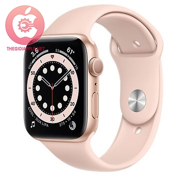 APPLE WATCH S6 LTE 44MM GOLD/PINK SPORT BAND