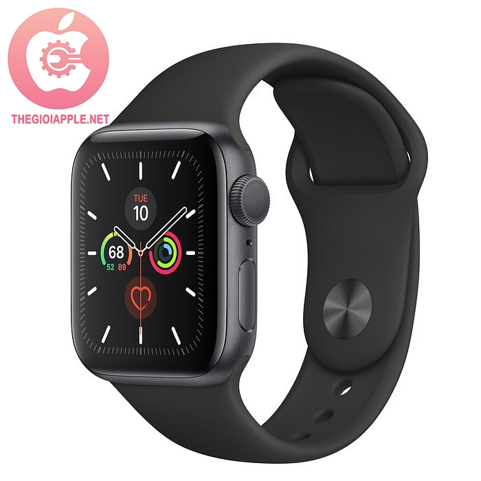 APPLE WATCH SERIES 5 GPS 40MM GRAY/ BLACK SPORT BAND