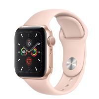 APPLE WATCH SERIES 5 LTE 40MM GOLD/PINK SPORT BAND