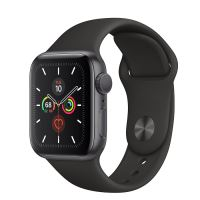 APPLE WATCH SERIES 5 LTE 40MM GRAY/ BLACK SPORT BAND