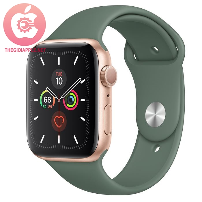 APPLE WATCH SERIES 5 LTE 44MM GOLD/PIN XANH