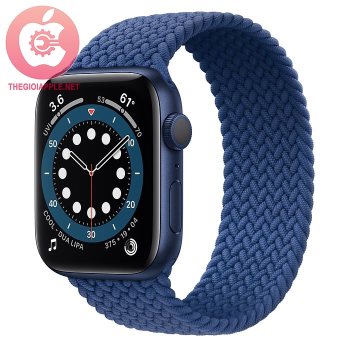 APPLE WATCH SERIES 6 GPS 44MM BLUE/ BRAIDED SOLO LOOP ATLANTIC BLUE