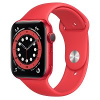 APPLE WATCH SERIES 6 LTE 44MM RED SPORT BAND