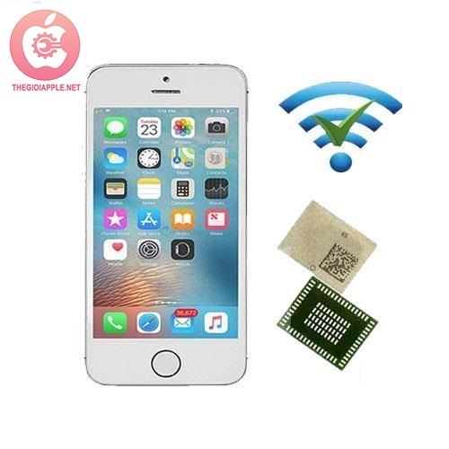 Thay IC wifi iPhone 5s