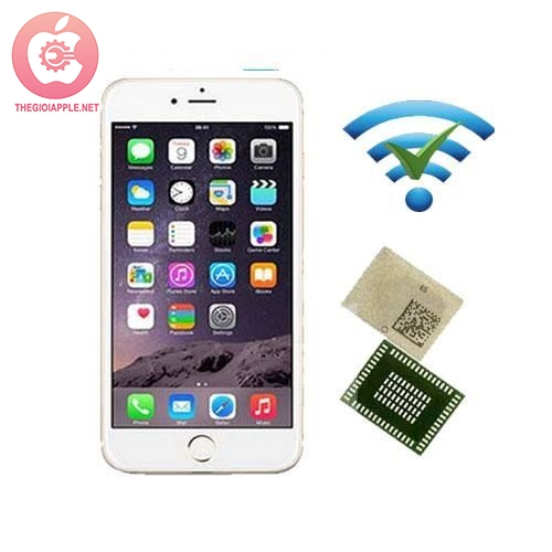 Thay IC wifi iPhone 6